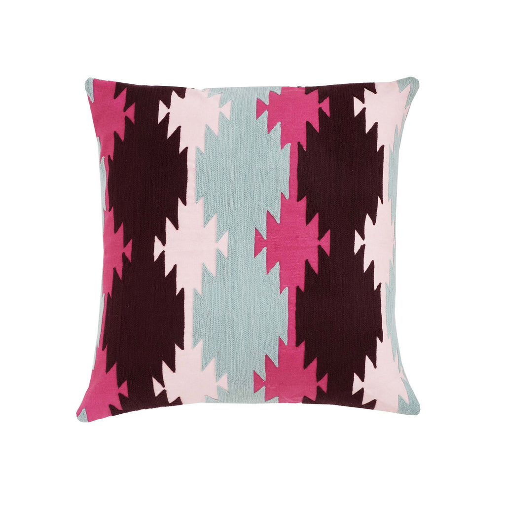 Kasa Fuschsia 18x18 cushion