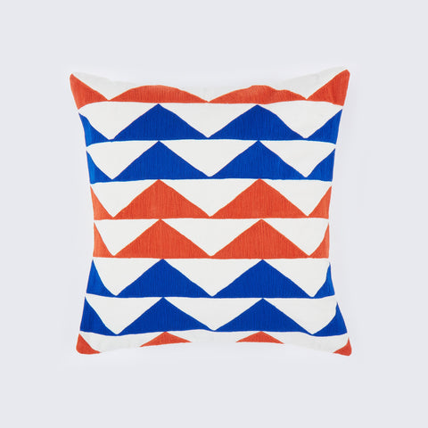 Marble Orange 18x18 cushion
