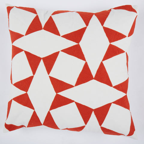 Rozen Orange 24x24 cushion