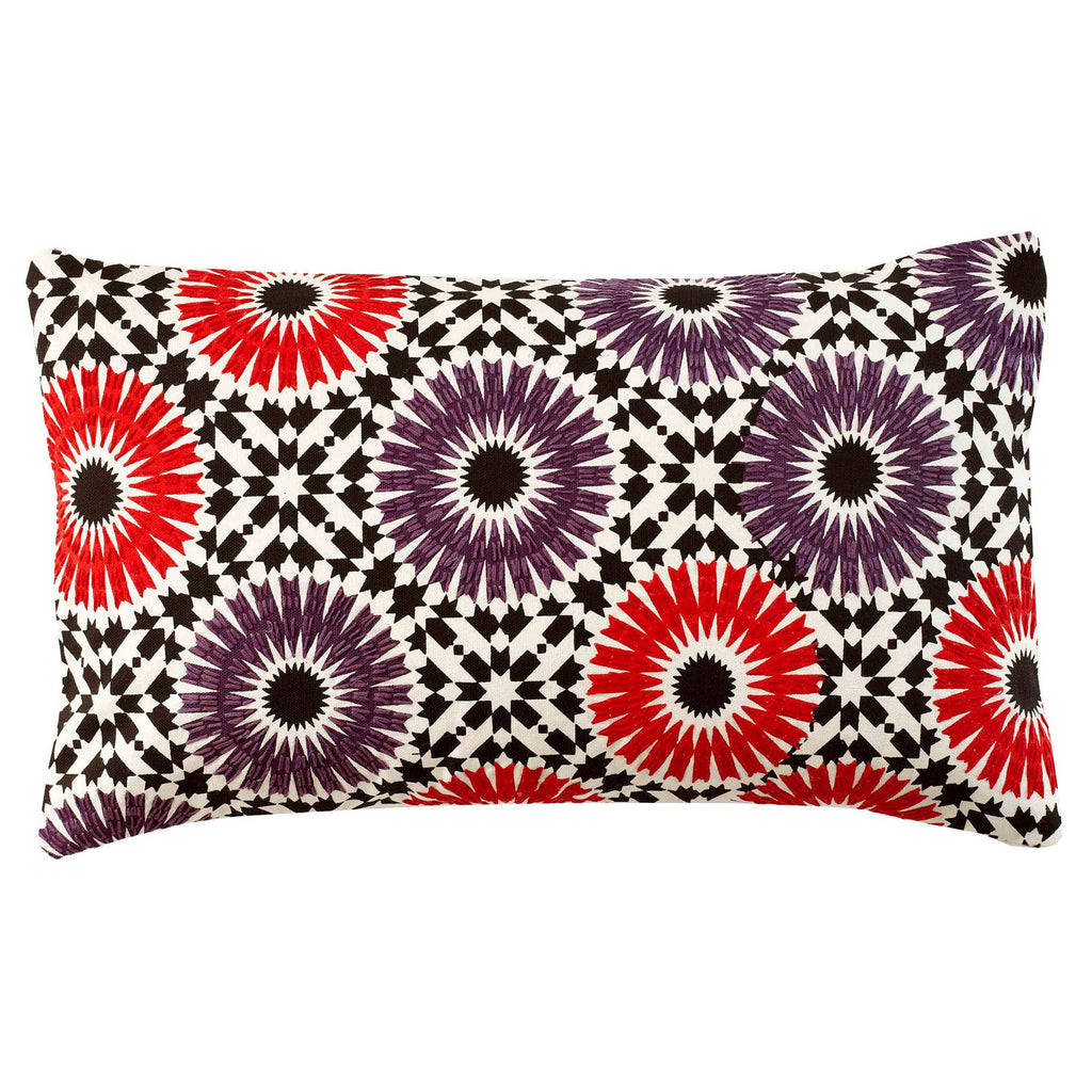 Winter Garden Plum 12x20 cushion