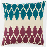 Ruby Diamond 24x24 cushion