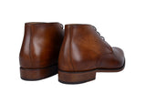 Chukka Steve - patine Marron