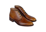 Chukka Steve - patine Marron clair