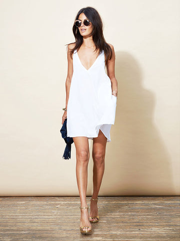 Samba Mini Dress - White