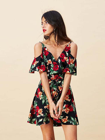 Marlin Dress in Wild Rose