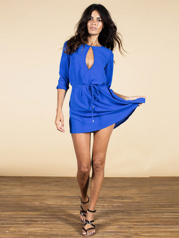 Valentina Dress in Royal Blue