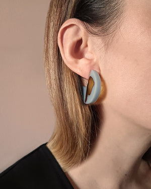 Kohut Medium Circle Earrings