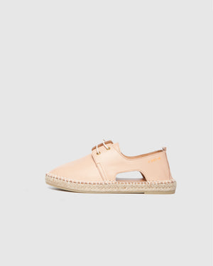 Act Chrome Leather Espadrille