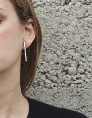 Karla Organic Drop Earrings