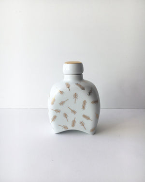 Holiday Edition Porcelain Flask