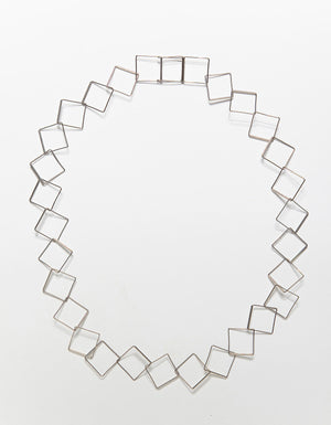 Karla Flat Cube Necklace
