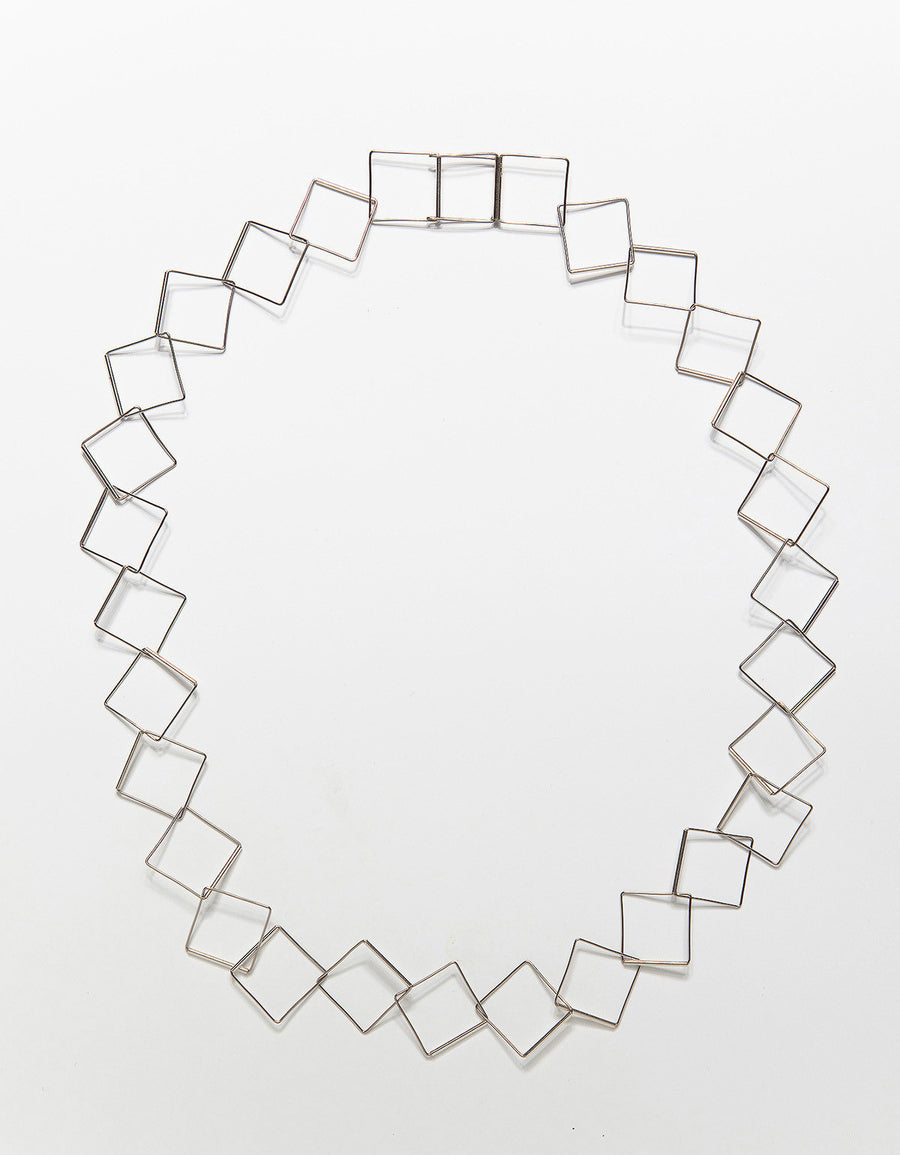 Flat Cube Necklace