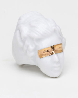 Porno Ring, Gold Mask