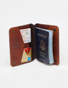 Millford Passport Wallet brown