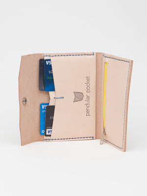 Pendular Pocket Frolic Wallet, Blue - Limited Edition