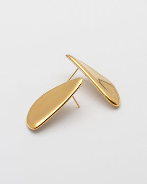 Pedrusco Louis Earrings, Gold