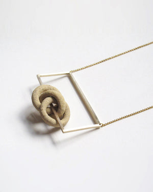 DSNU Nudos de Tierra Necklace III
