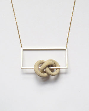 Nudos de Tierra Necklace III