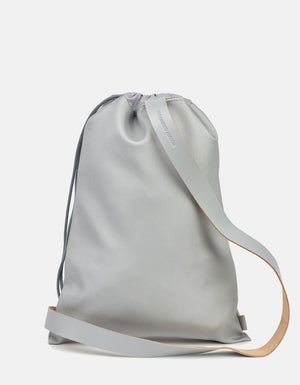 Minimalist Single-Strap Backpack, Silver