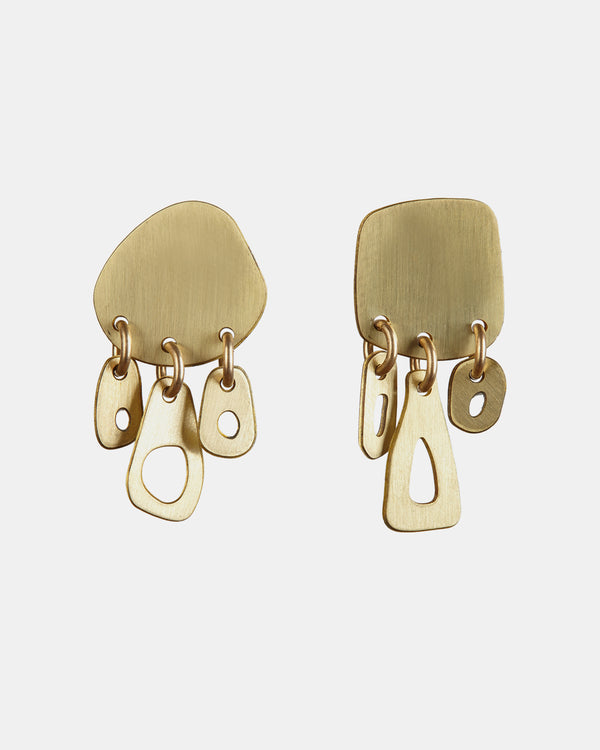 Ruby Jack Calvino Pebble Earrings