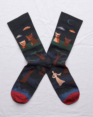 Bonne Maison Night Cat Socks