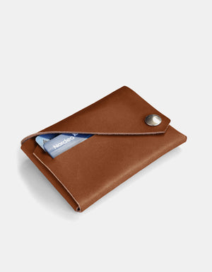 Lemur Fold Wallet, Dark Brown