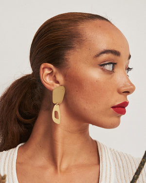 Ruby Jack Calvino Feather Earrings
