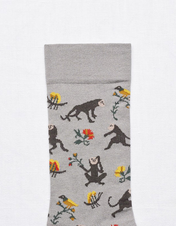 Bonne Maison Elephant Monkey Socks