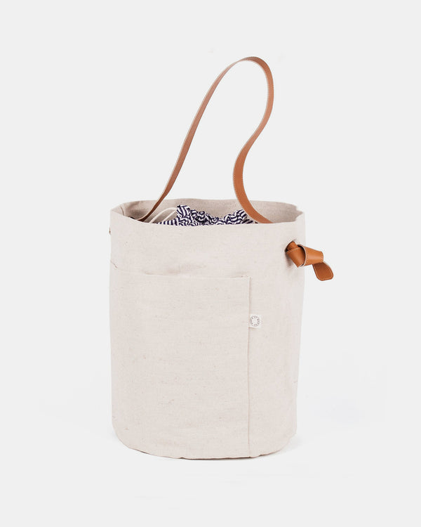 Marin et Marine Noeud Bucket Bag, Sahara
