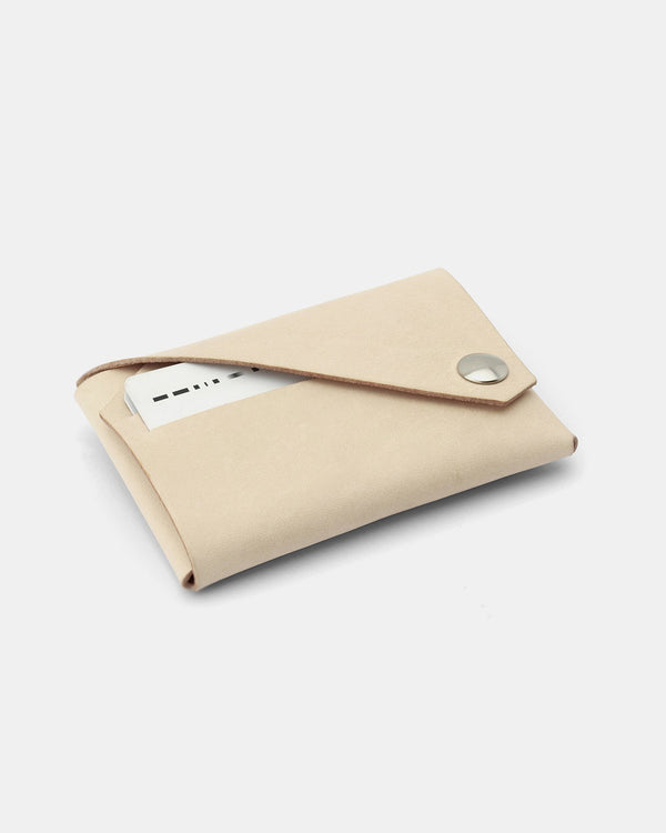 Fold Wallet, Nude Leather