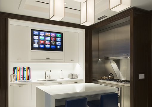 Home automation smart technology room