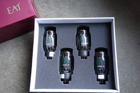 EAT KT88 Diamond Vacuum Tube- Matched Quad Box Set