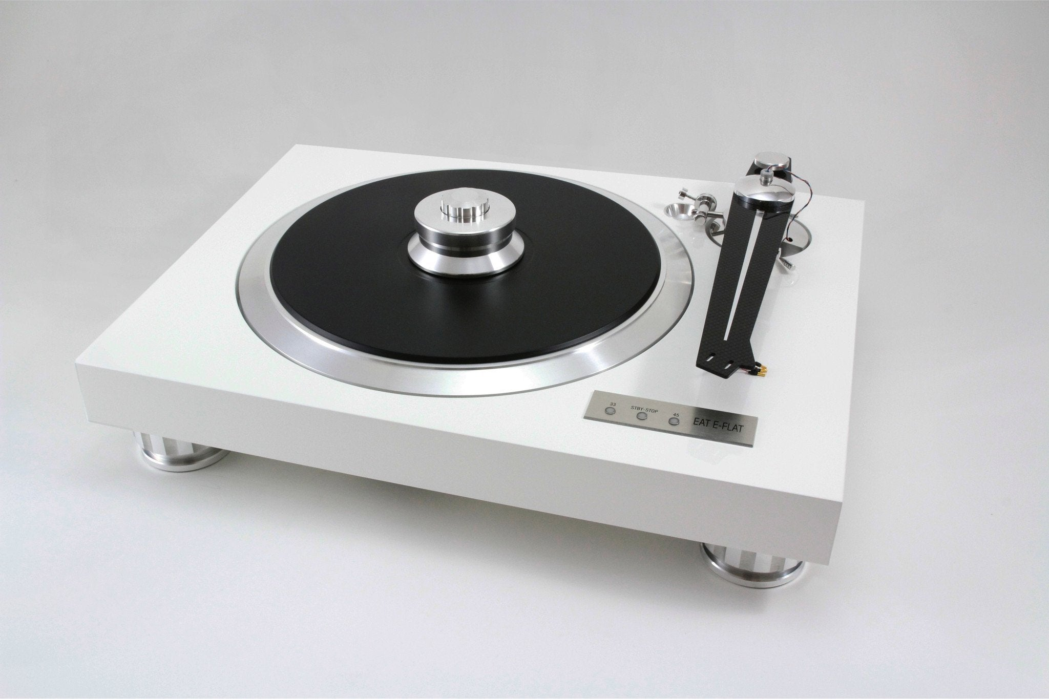EAT E-Flat Turntable and Ortofon Quintet Black Cartridge Option-Turntable-Audio Den