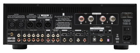 Parasound Halo Integrated 2.1 Channel Integrated Amplifier-integrated amp-Audio Den