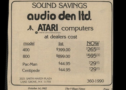 Our History | Audio Den