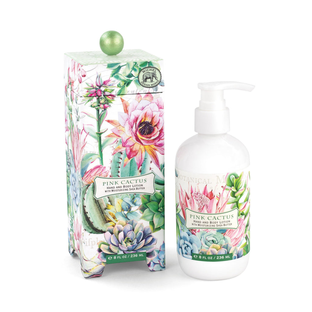 Pink Cactus Hand and Body Lotion