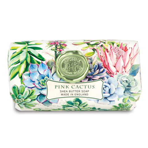 Pink Cactus Luxury Soap Bar
