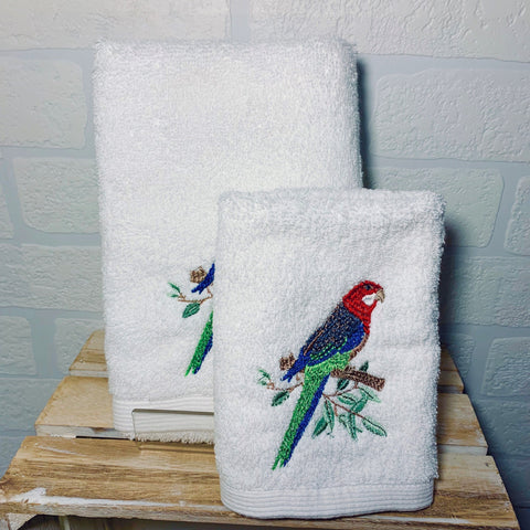 Rosella Face Washer and Hand Towel