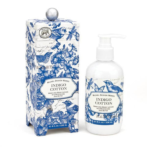Indigo Cotton Hand and Body Lotion