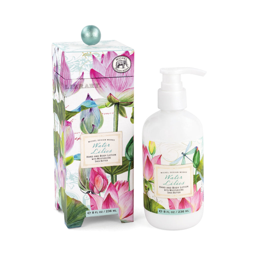 Water Lillies Hand and Body Lotion