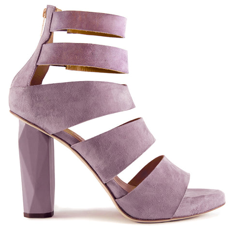 soft lavender guava high heel