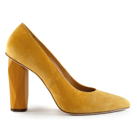 lemon zest pump high heel