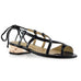 Honey Black Quartz Sandal