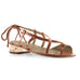 copper quartz sandal