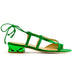 Jungle Green Quartz Sandal