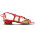 Lipstick Red Quartz Sandal