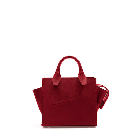 Mini City Bag Lipstick Red