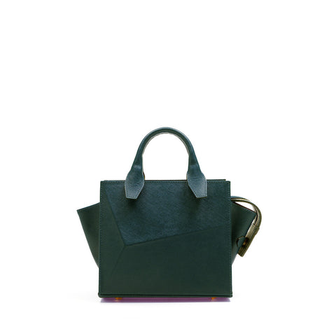 Mini City Bag Emerald Green