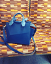 Mini City Bag Electric Blue