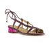 Magic Violet Quartz Sandal